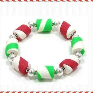 Jewelry - CHRISTMAS PEPPERMINT BRACELET